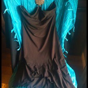 Moda International Asymmetrical Halter Dress